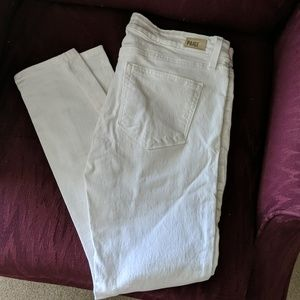 Paige White Skinny Jeans. Too small for me.